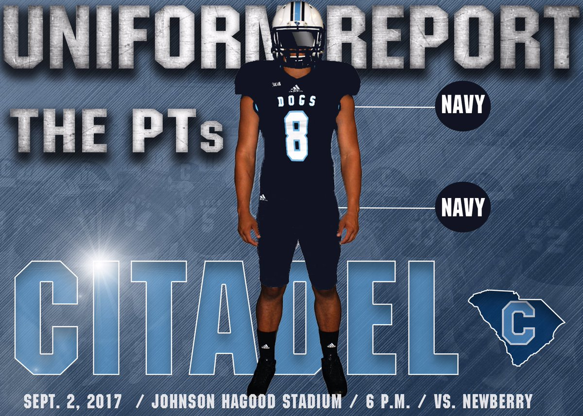 new arrivals 51879 ab7ae The Citadel Football on Twitter: