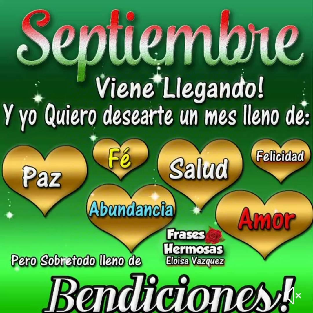 Twitter पर Patricia Nuñez Bienvenido Septiembre Que