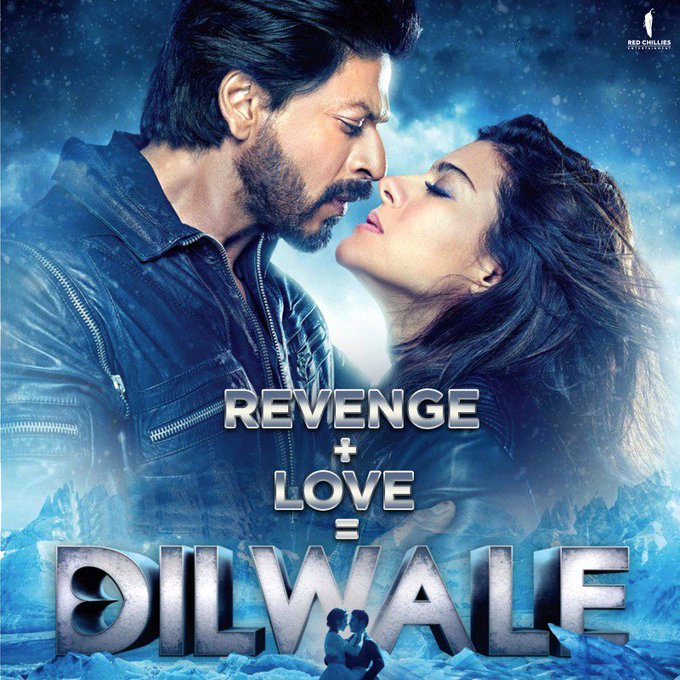 Only Dilwale can turn revenge into ♥️ #RedChilliesEquation https://t.co/diqH3Szk3J