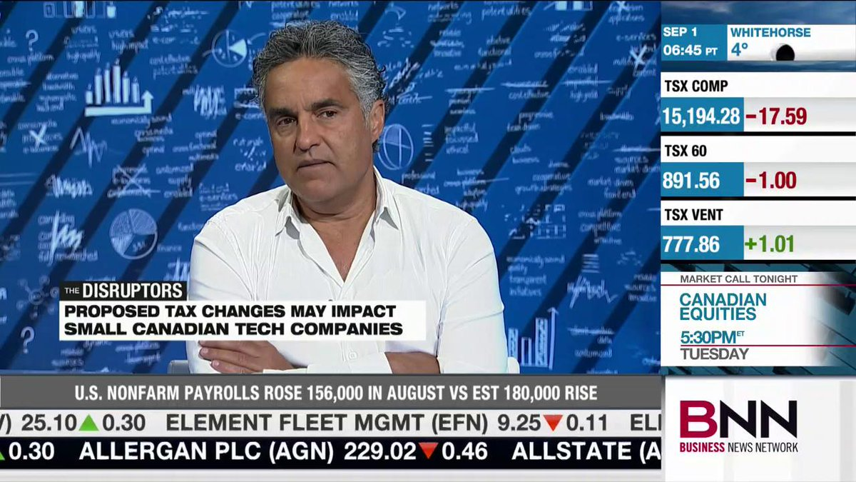 """I'm so upset"": @bruce_croxon slams Liberals' tax proposals for private corporations, says ""reason has to prevail"" https://t.co/EXBIvRmMBH"