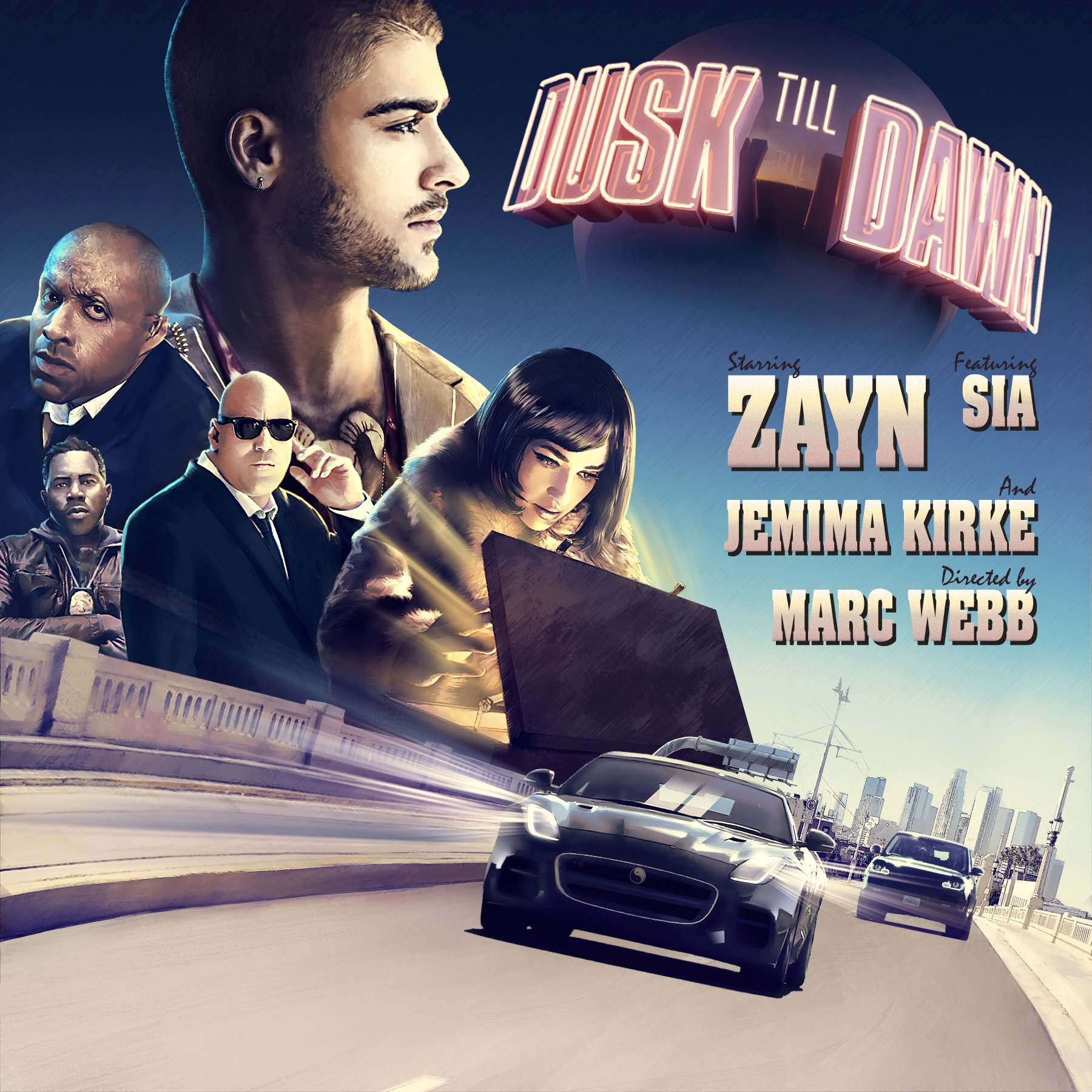 Zayn Teams Up with Sia for Massive New Single 'Dusk Till Dawn'