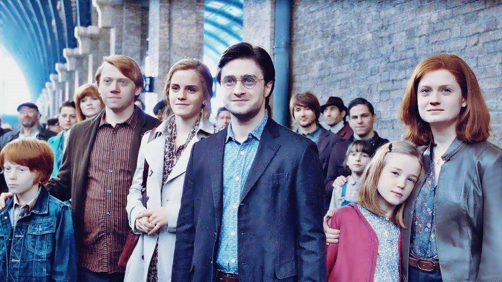King's Cross to Hogwarts 19 years later... #BackToHogwarts #19YearsLater