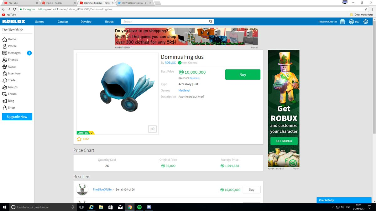 Dominus Frigidus Roblox How To Download Roblox On Laptop For Free