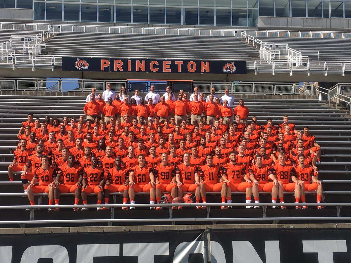 Your 2017 @PUTigerFootball team! https://t.co/CoZFuE2aFv