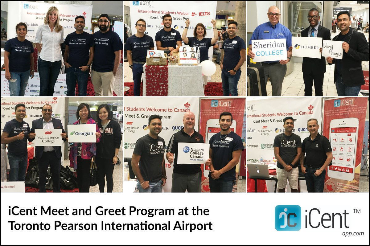 Icent app on twitter icentapp airport meet greet program icent app on twitter icentapp airport meet greet program torontopearson international airport international students welcome toronto canada m4hsunfo