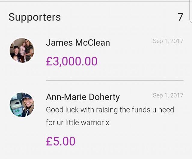 James McClean has just donated £3,000 to help baby Caleb who has a rare form of eye cancer. 👏