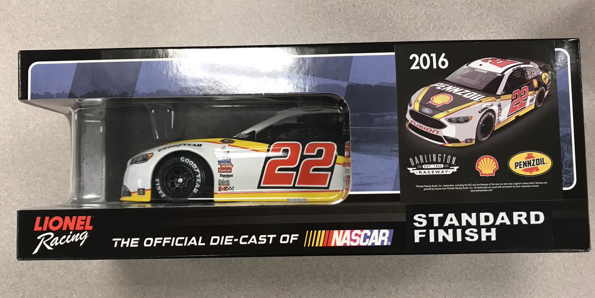 Retweet for a chance to win this 2016 @JoeyLogano throwback diecast. Ends 9/2/17 at 4:15 p.m. ET https://t.co/vYuaOyAE19