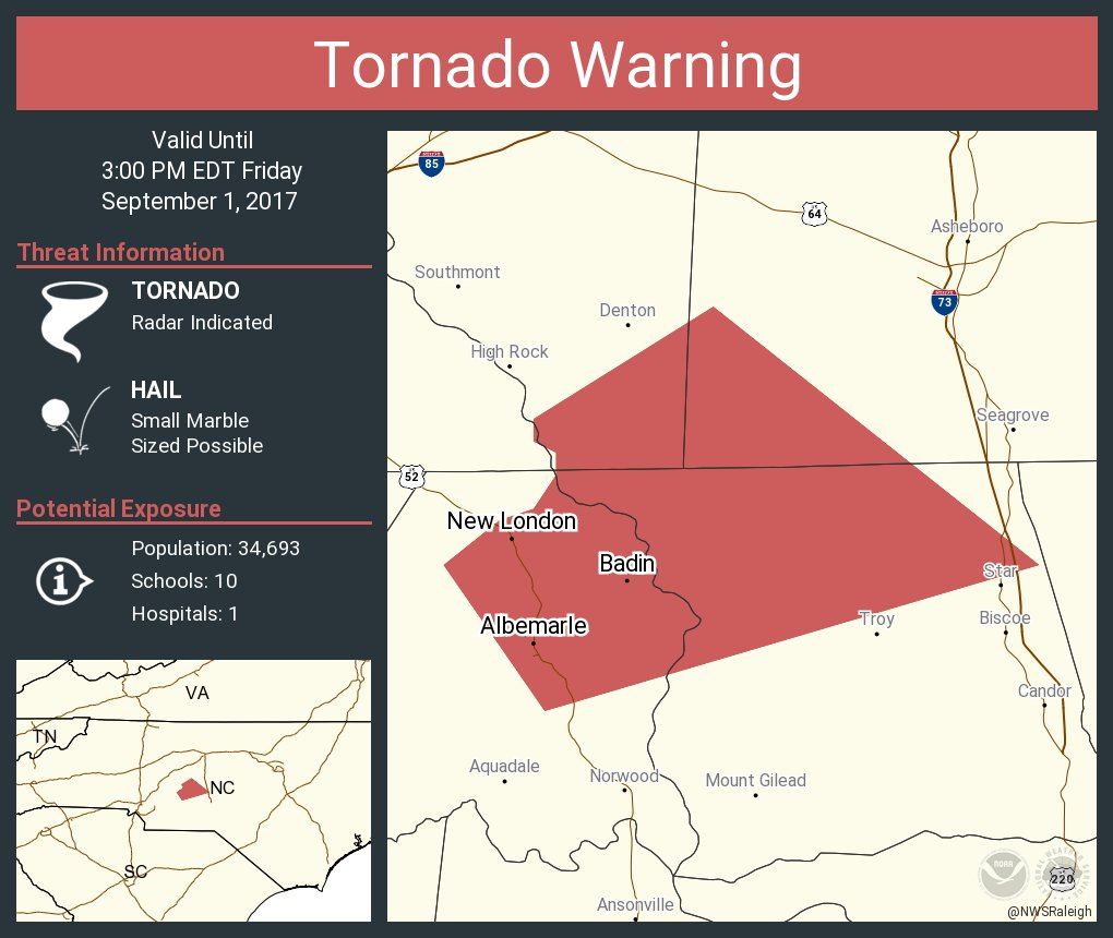 New London Nc Map.Nws Raleigh On Twitter Tornado Warning Continues For Albemarle Nc
