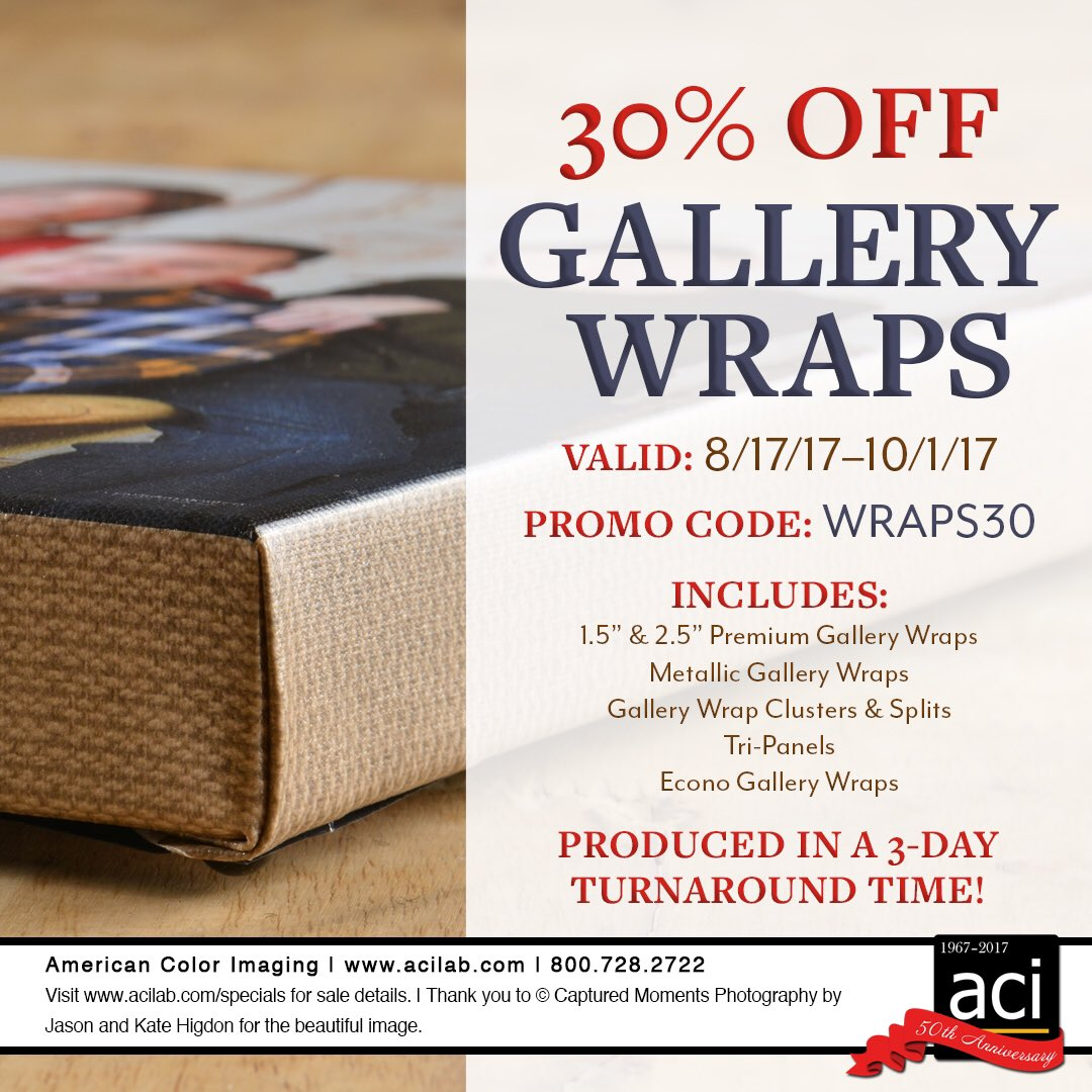 American Color On Twitter Our Gallery Wrap Team Is Working Hard Your Orders That Are Coming In You Can Save 30 With The Promo Code Until 10 1