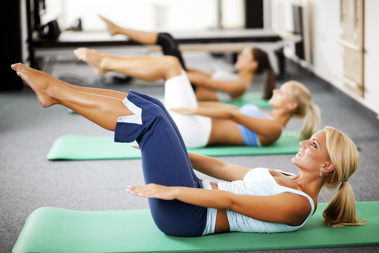 Упражнения для похудения фитнес клуб