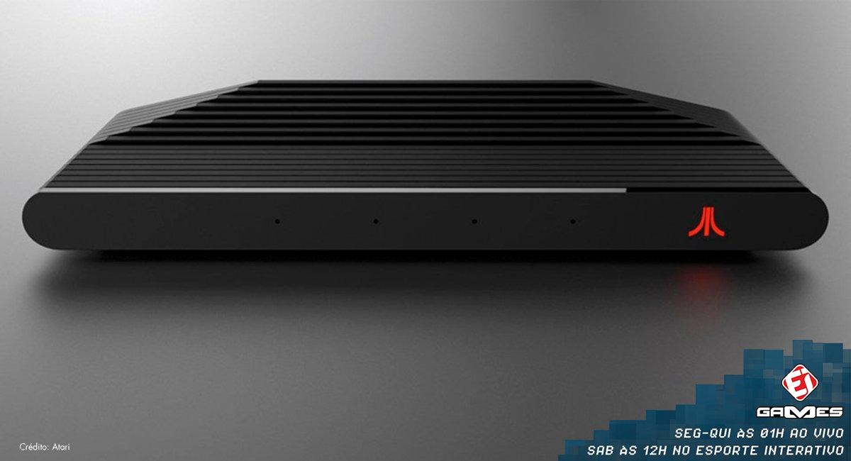 Atari anunciou a data de lançamento do seu NOVO console! Confira mais sobre o lançamento aqui! https://t.co/vlSIiALlCk