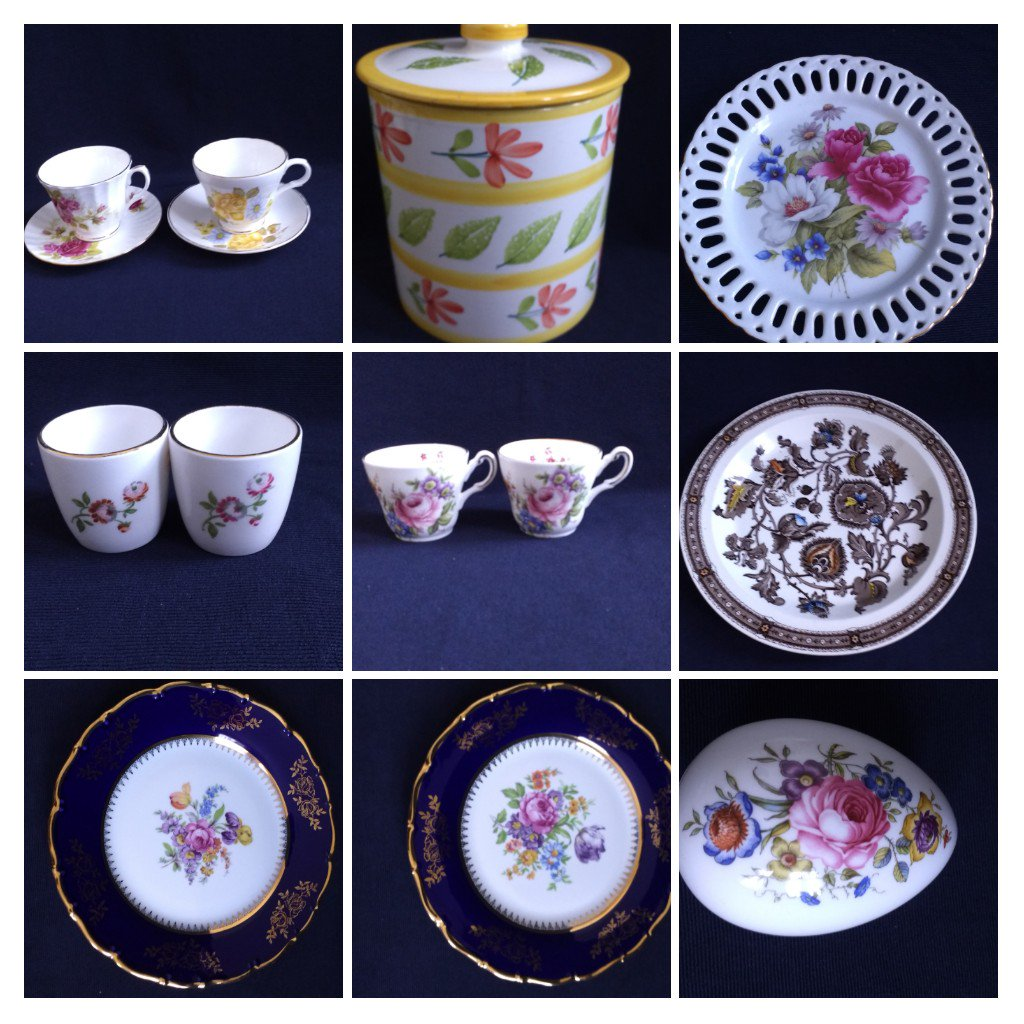 Antique looking china hutches