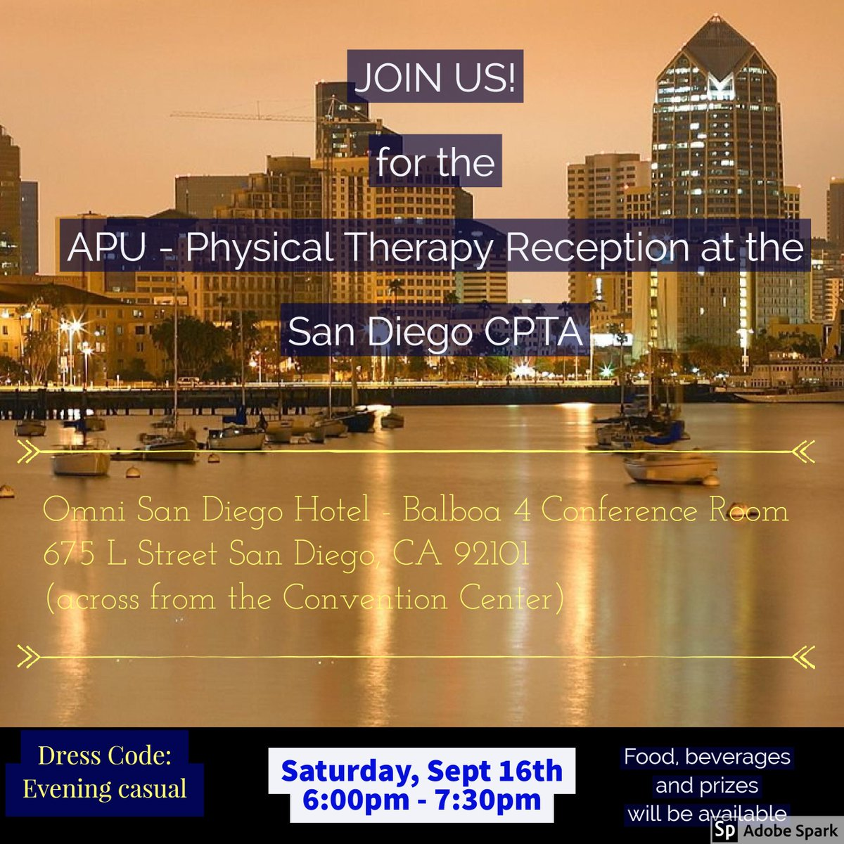 Generalist physical therapy - Rsvp To Attend The Apu Pt Alumni Reception By 9 13 We Can T Wait To See You To Rsvp Click On The Link Https Goo Gl Forms 6bepjzayvdvul2pc2