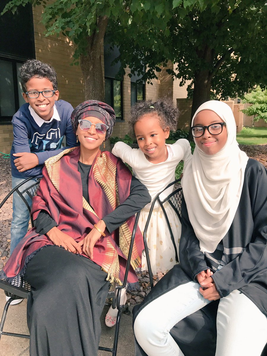 ilhan omar on twitter eid mubarak from our family to yours best