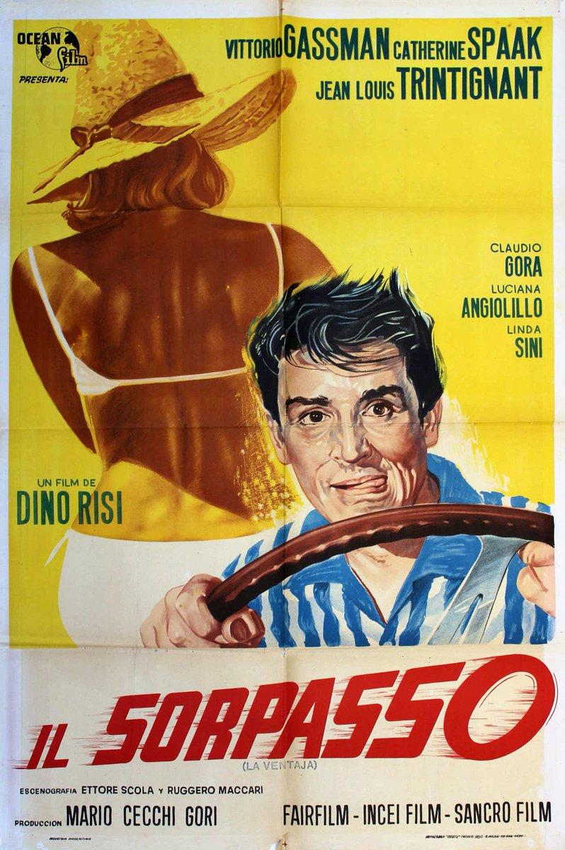 Resultado de imagem para movie poster Il Sorpasso