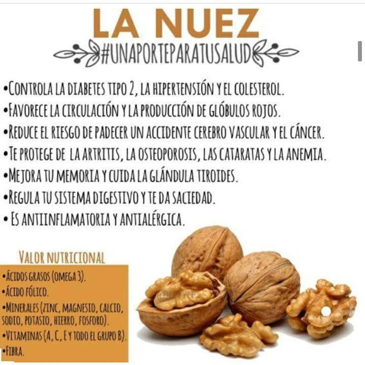 nueces y pasas diabetes mellitus