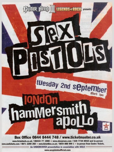 On The Trail Of The Sex Pistols