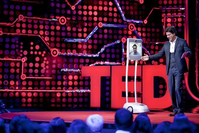 One of my favouritest ppl in the world.The very funny innovator boss man @sundarpichai graces @TEDTalksIndia.Thx man https://t.co/hPby1eRFJz
