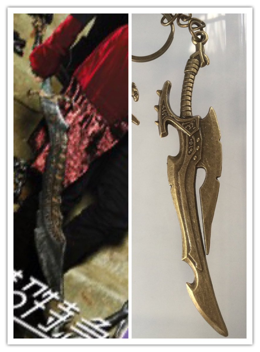test ツイッターメディア - #セリア で買った剣士の剣キーホルダーの既視感の正体。  \\Believe×Believe// https://t.co/DEPIeQSlcm