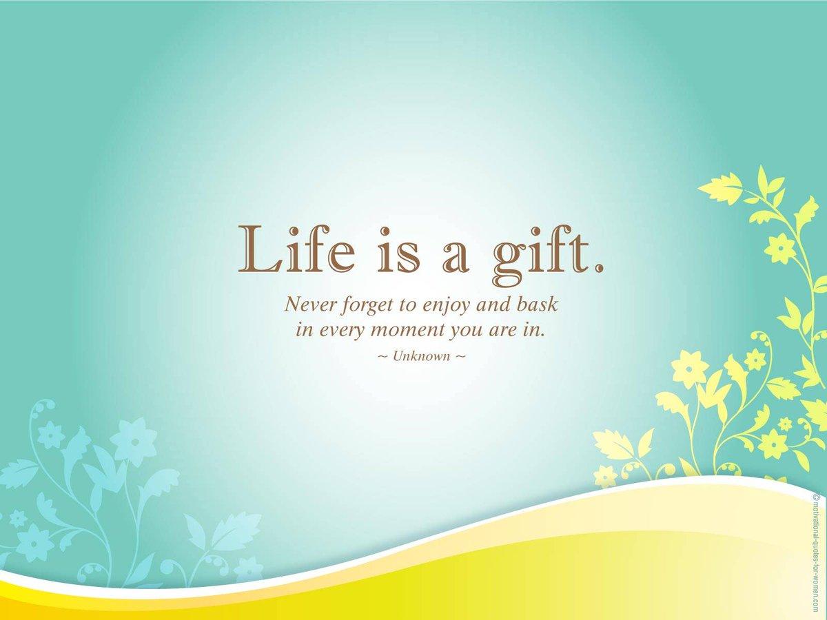 RT @KariJoys: #Life is a precious #gift. #JoyTrain #Joy #Love #Peace #Gratitude https://t.co/VVQgg36Cby  RT @JWPowerYourLife