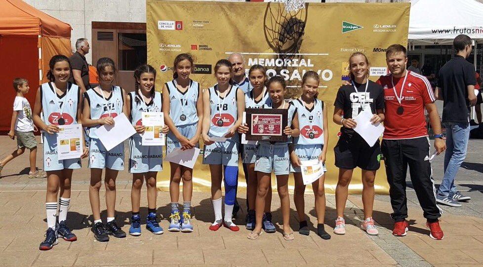 Academia Celta alevin, vencedor torneo de Minibasket @mem_quinosalvo