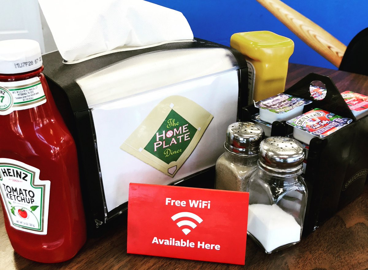 We provide free WiFi at both our locations \u0026 you\u0027re able to instantly post photos of your food. Don\u0027t forget to tag the diner !pic.twitter.com/LxhMH1Gc5S & DM Home Plate Diner (@DM_HomePlate) | Twitter