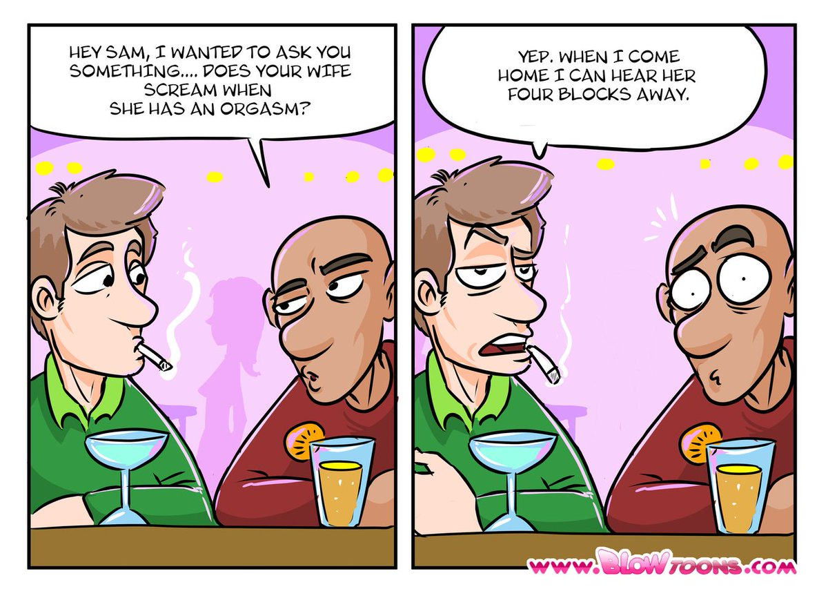 """Funny Adult Comics blowtoons on twitter: """"marriage issues. #adultcomics"""