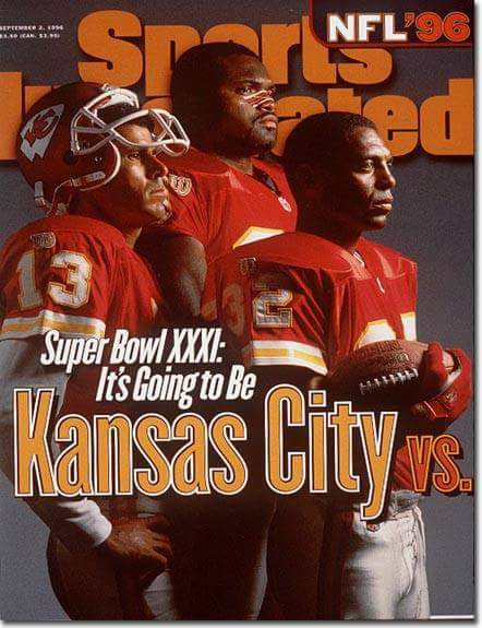 Sports Illustrated September 2nd 1996. 21 years ago today. https://t.co/IhMEb4bp2o