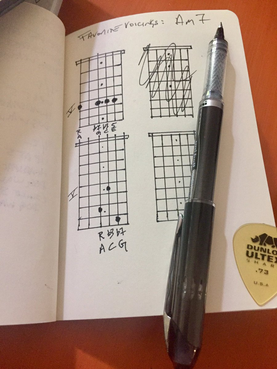 James Martin On Twitter My Favorite Am7 Guitar Chord Voicings