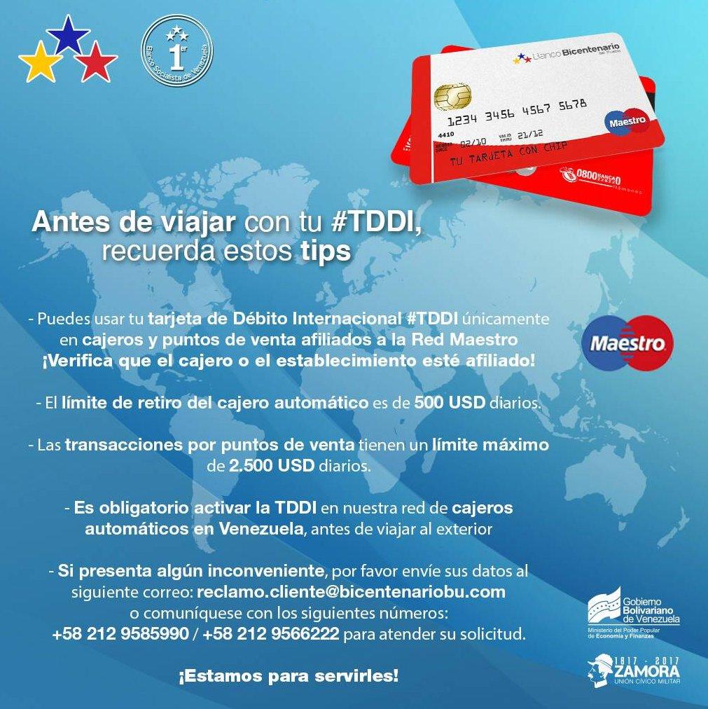 Banco bicentenario on twitter pendiente prep rate para for Banco exterior venezuela