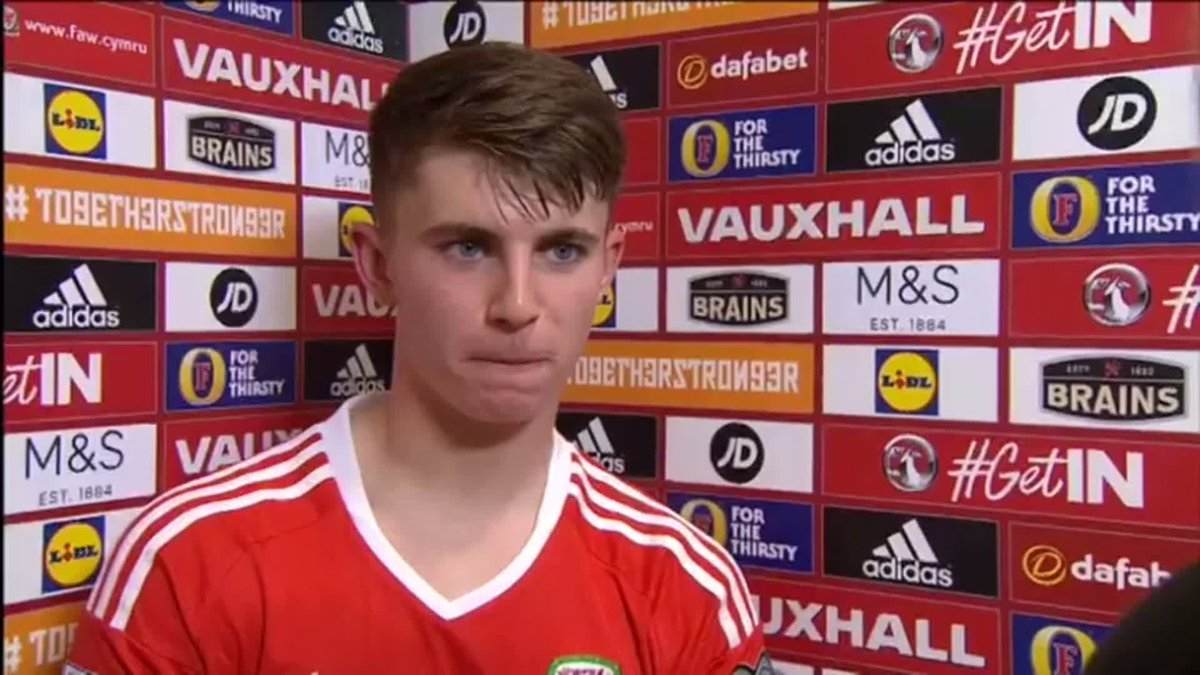 BEN WOODBURN: 'A dream come true'.   Ymateb @BenWoodburn. | Reaction from the debutant goalscorer for @FAWales. https://t.co/dOpc6KPShc