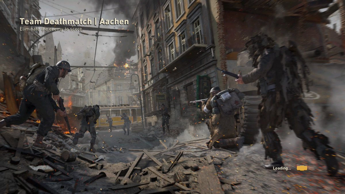 Black Ops 4 On Twitter Call Of Duty Ww2 Aachen Map Vs Downturn