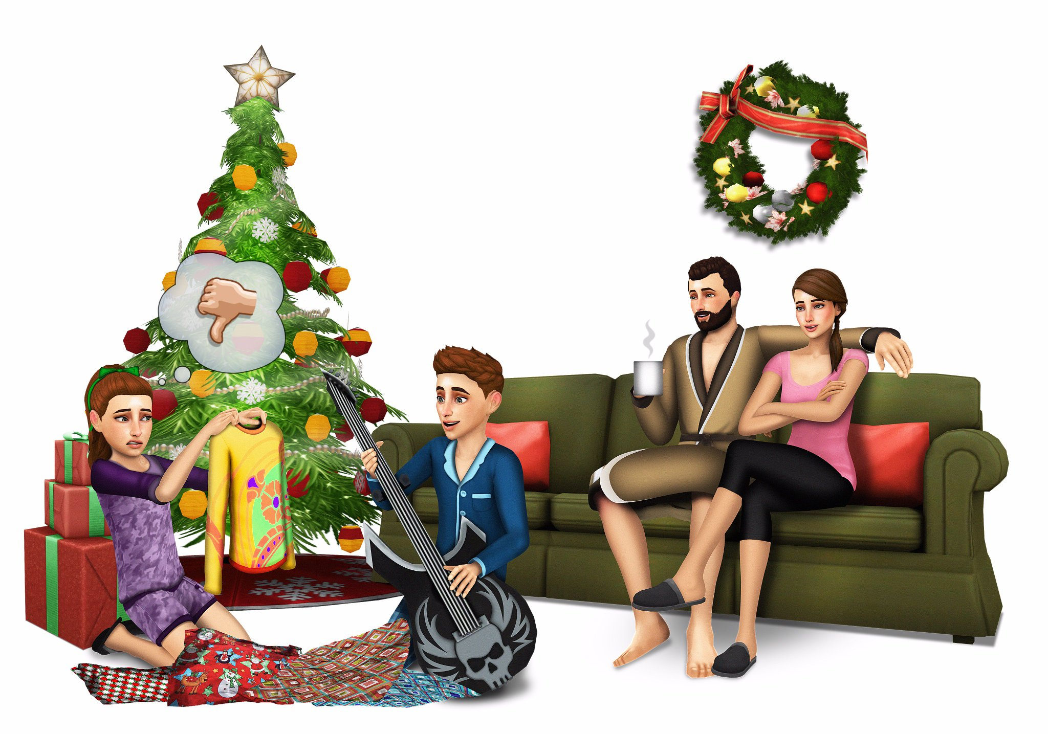 Sims 4 Christmas Poses.Fan Made Renders Not Official New 6 18 19 Page 14 The