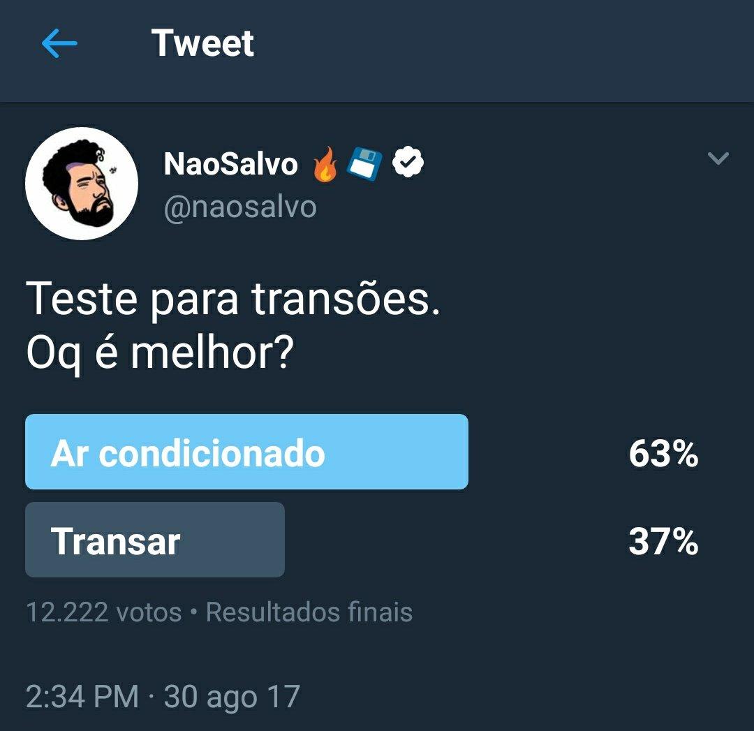 A ONU tem que começar a estudar o resultado da minha nova pesquisa:  'O Brasileiro não ta nem ai pro sexo, mas tem um baita tesão no caos'