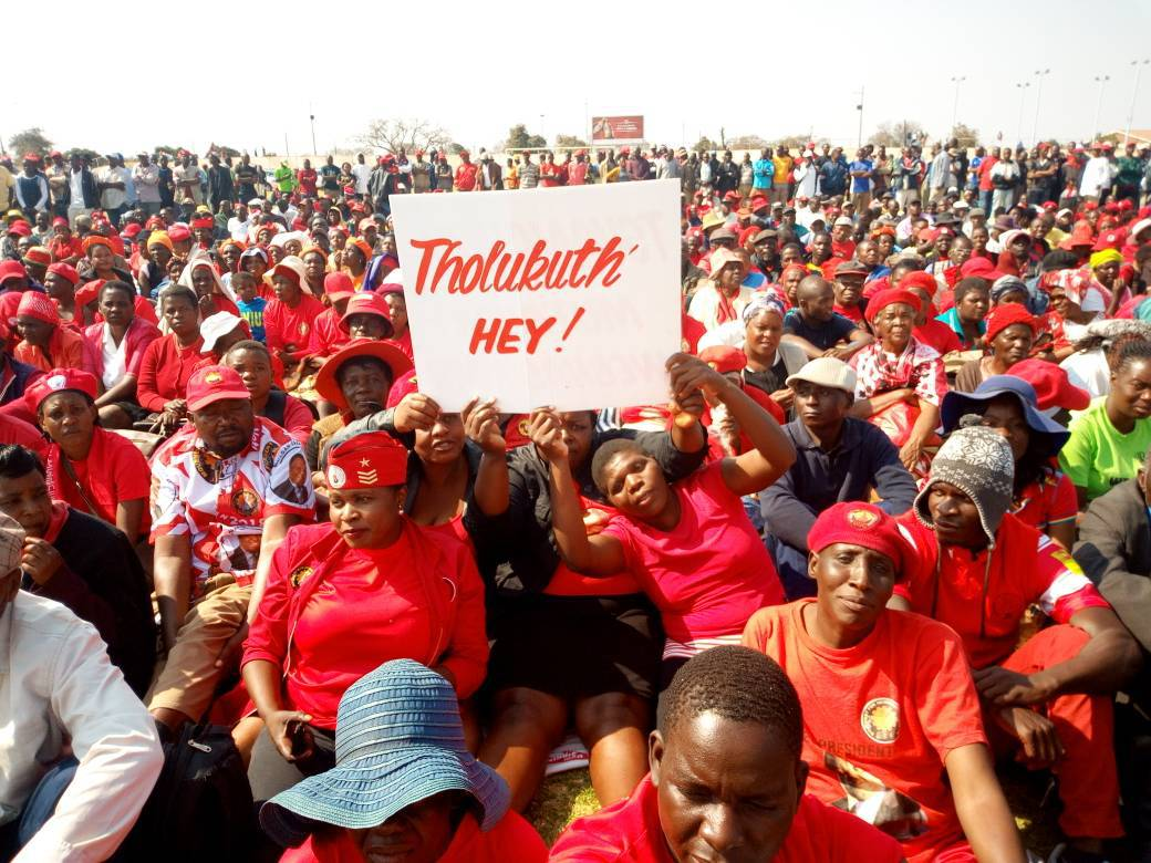 Tsvangirai morgan