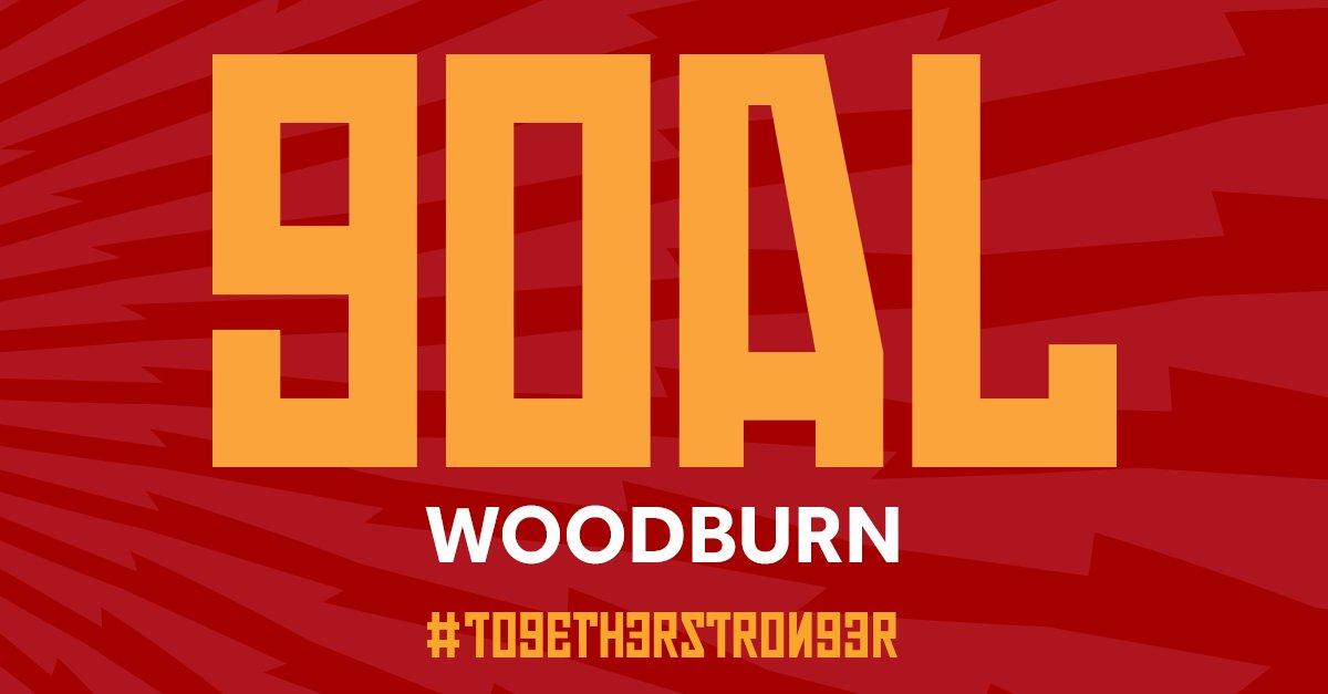75' WOOOOOOOODDDDDDBBBBBUUUUUUUUUURRRRRNNNNNNN BABY BURN!!!!! It's 1-0. What a strike!!!!! #WALAUT #TogetherStronger https://t.co/QVl7JQeYYm