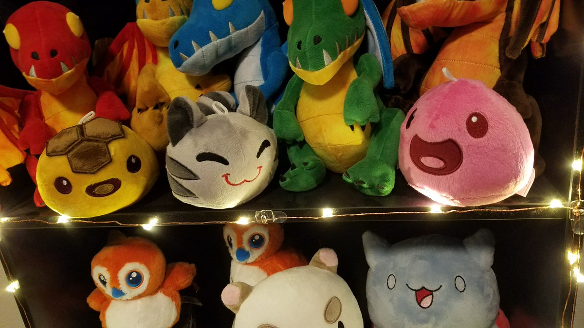 Kiwi On Twitter Got My At Monomipark Slime Rancher Plushies