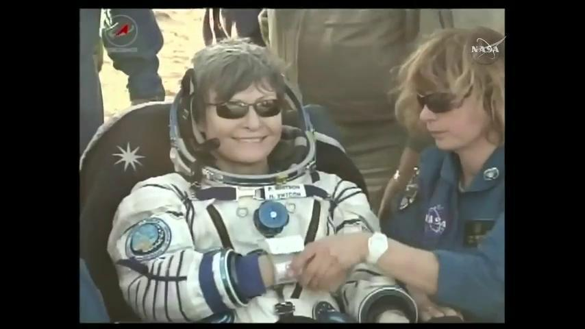 This female astronaut just made all kinds of history