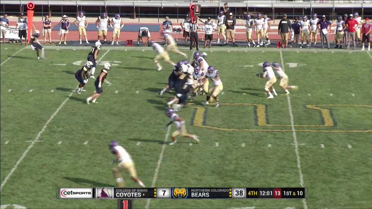 #BigSkyFB @Iswopes1 now with a SACK to go with his INT earlier today.