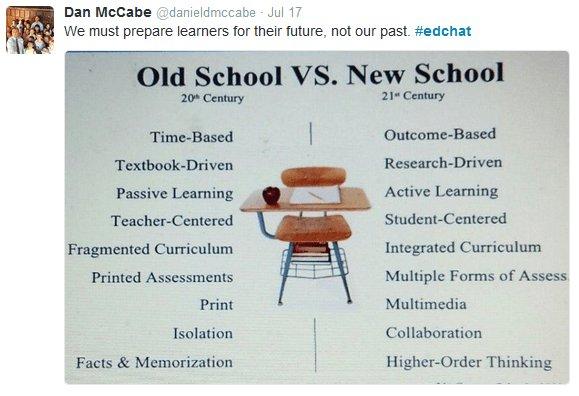 Old school vs. New school.  Where do you fall? https://t.co/so1SlIKI0E https://t.co/yDHtG1oO8F