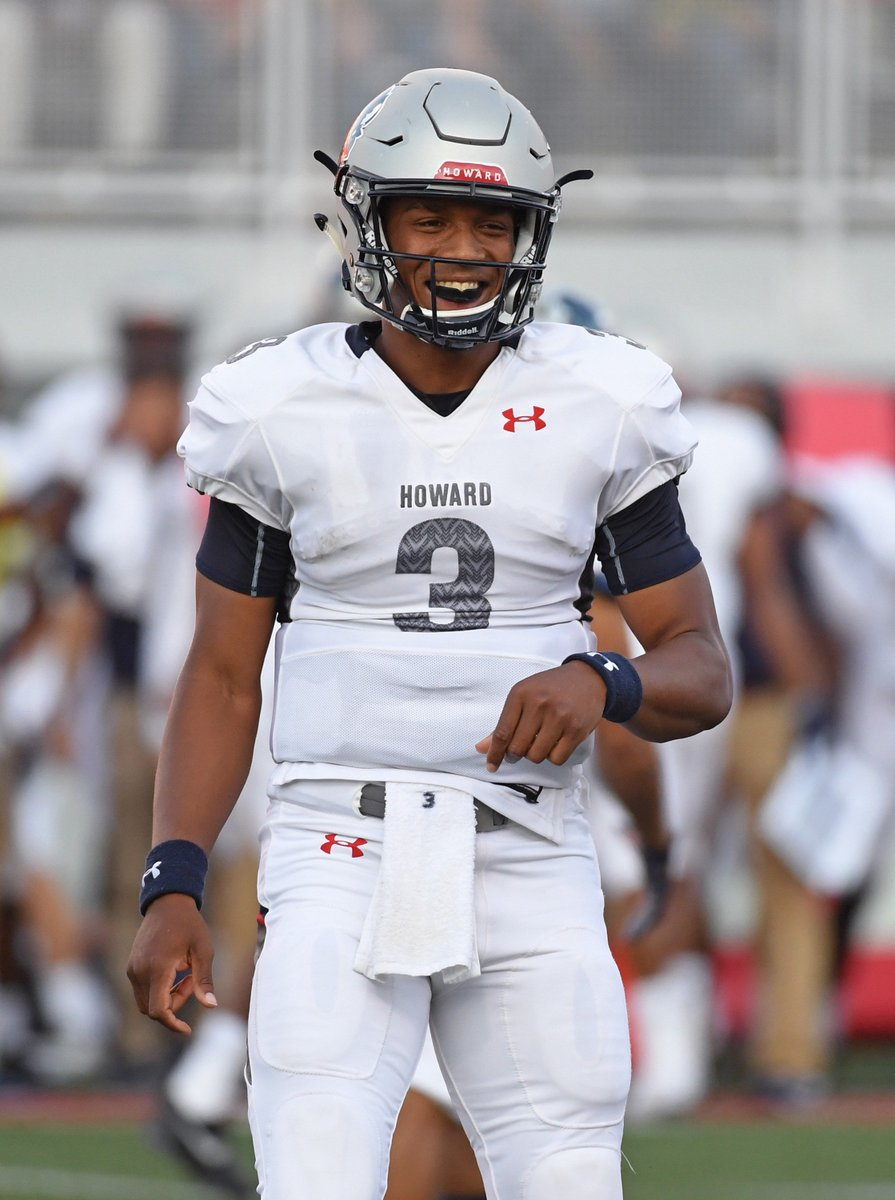 Caylin Newton, Cam's little brother, combines for 3 TDs in Howard's 43-40 upset over UNLV