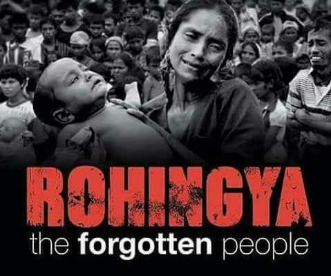 #StopKillingRohingyaMuslims