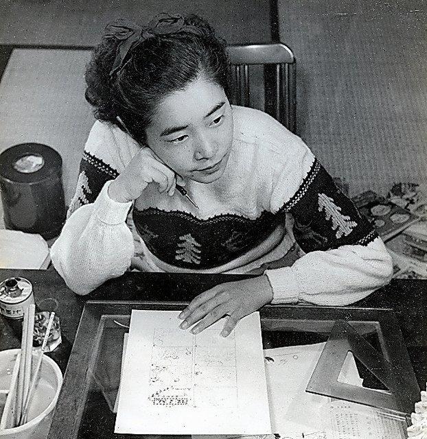 """#WOMENSART On Twitter: """"Machiko Hasegawa (1920-1992) Was"""