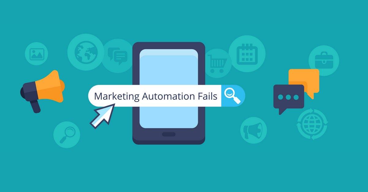 8 Ways Your #MarketingAutomation is Failing https://t.co/irxMiepaf9 via @ModGirlMktg @MandyModGirl #marketingtips #Modgirltips