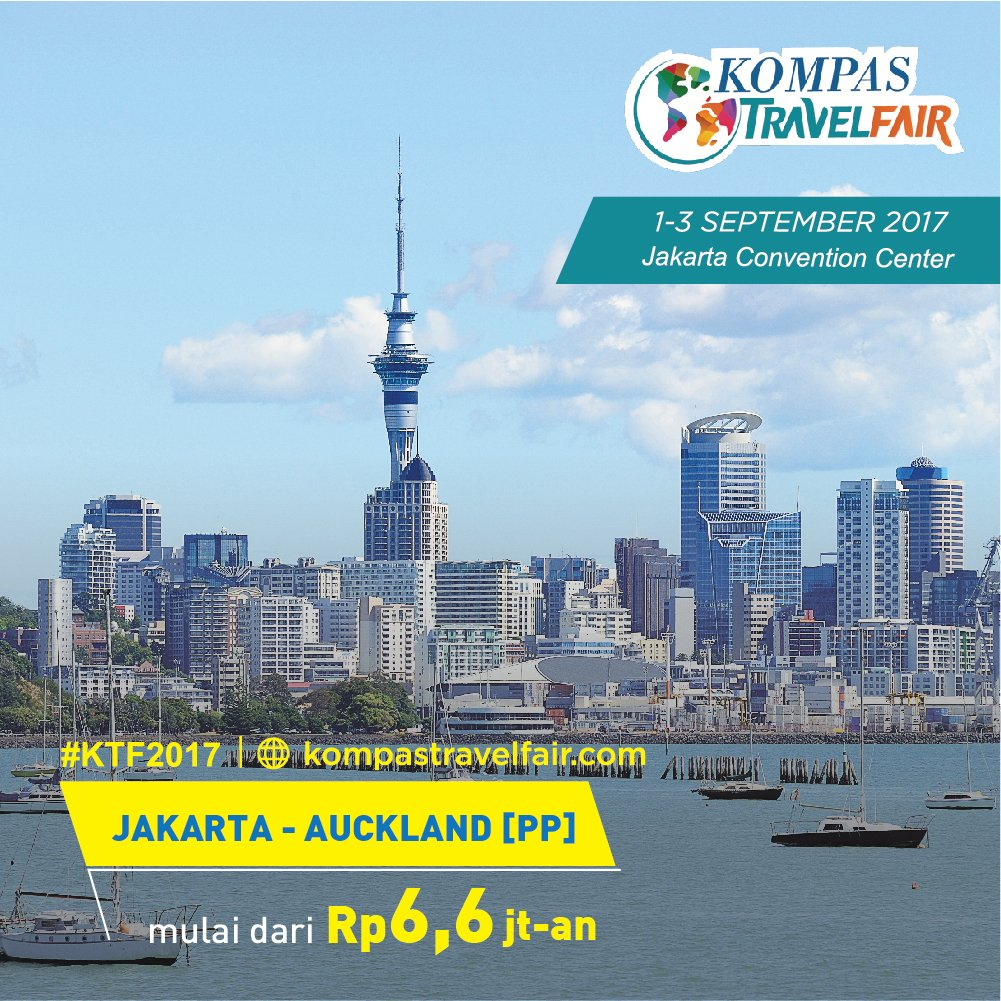 Kompas Travel Fair On Twitter Nikmati Kemegahan Panorama Alam New