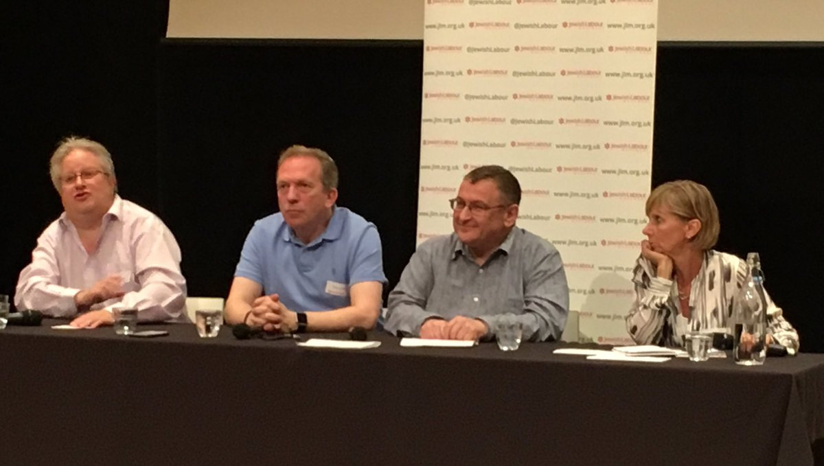 Fascinating debate at #JLM2017 on perspectives of Lab within Orthodox, Reform &amp; Liberal communities w @RabbiDannyRich @MichaelHG @noels_c<br>http://pic.twitter.com/2WEUQJw4sy