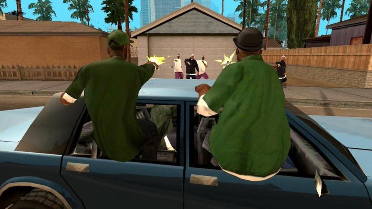 Theft auto san andreas играть онлайн