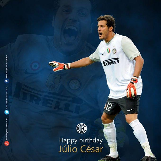 Oggi un campione del triplete spegne 38 candeline Happy birthday  Júlio César