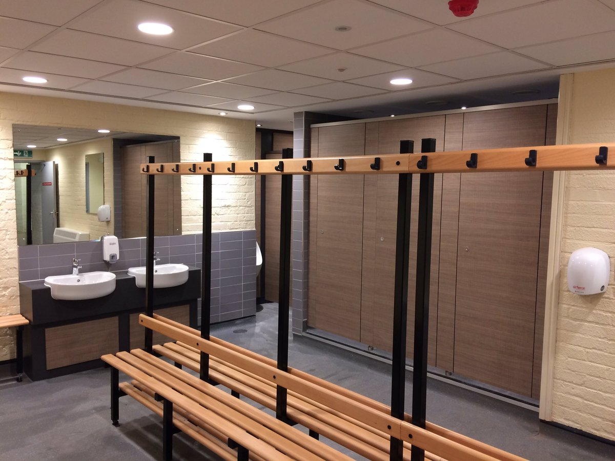 Andrew Haines on Twitter New Members Changing Rooms at Bromsgrove