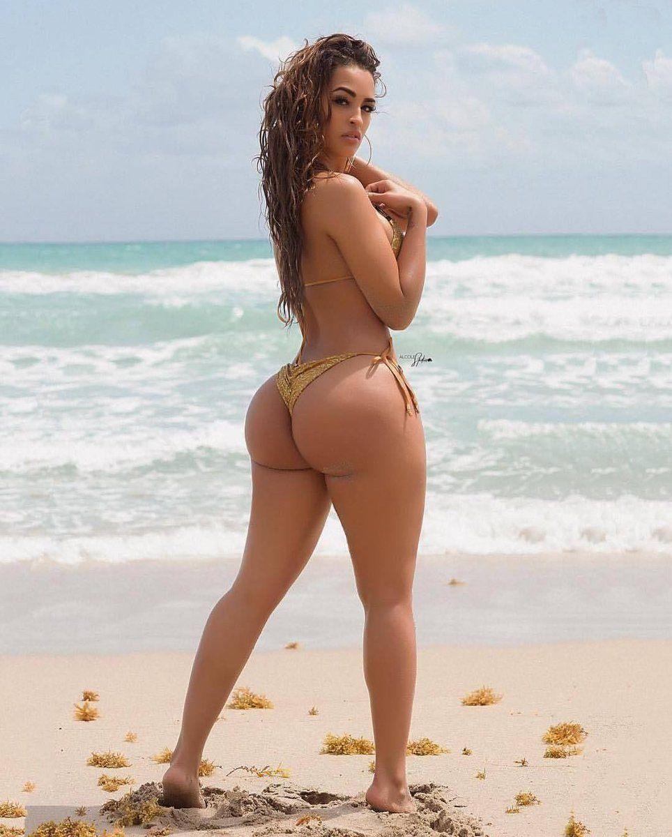 Brazilian pucker butt bikini in super thinskinz hot infared